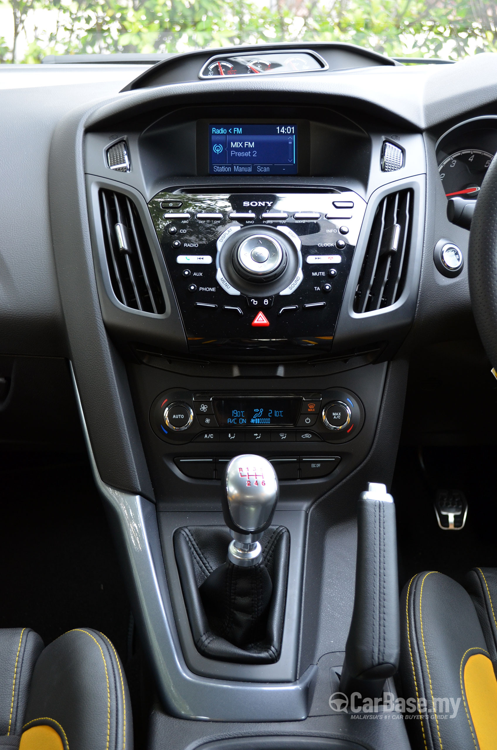 Ford Focus St Mk3 C346 2012 Interior Image In Malaysia Reviews