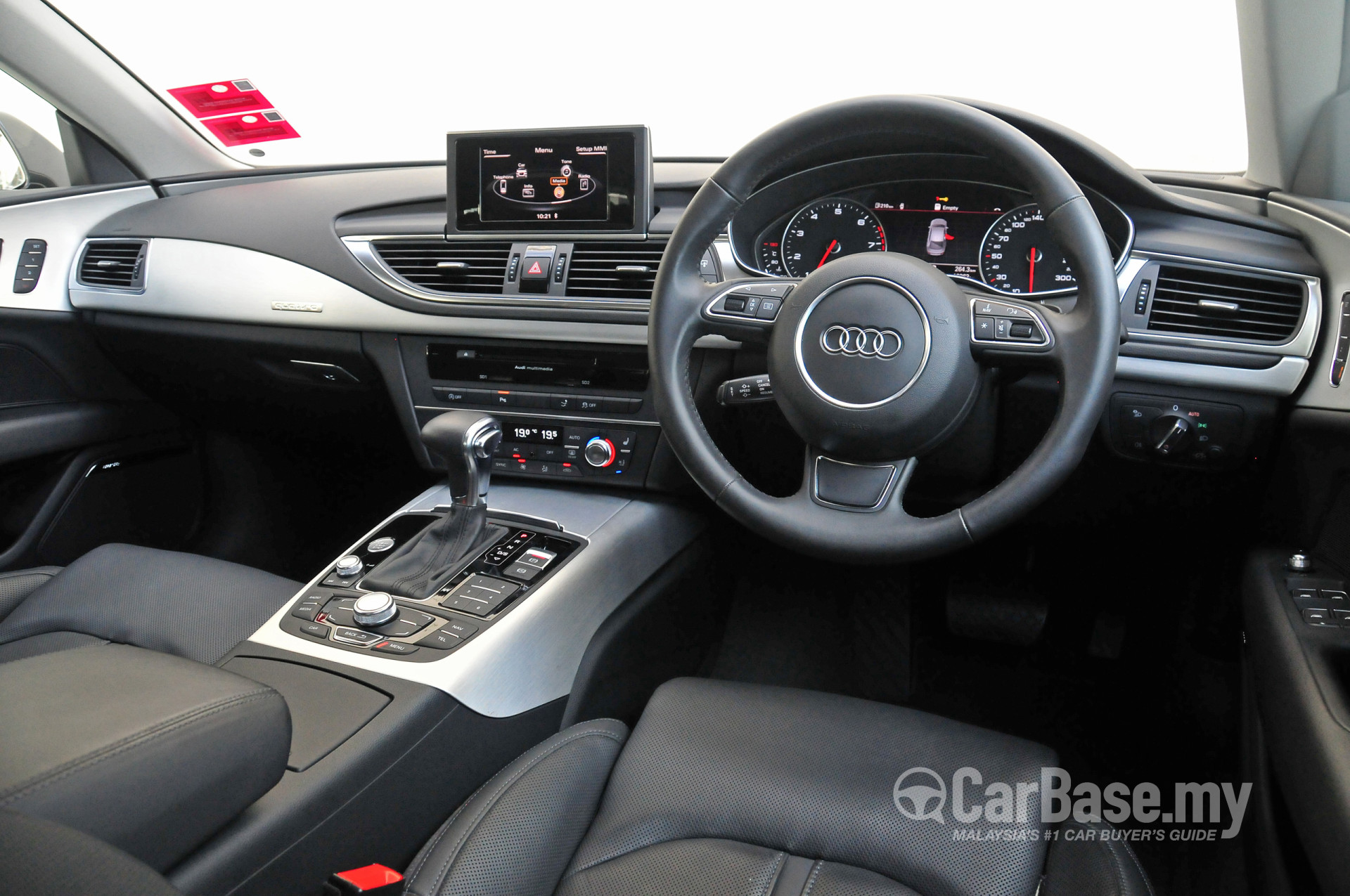 audi a7 sportback 4g 2012 interior image 10845 in malaysia reviews specs prices. Black Bedroom Furniture Sets. Home Design Ideas