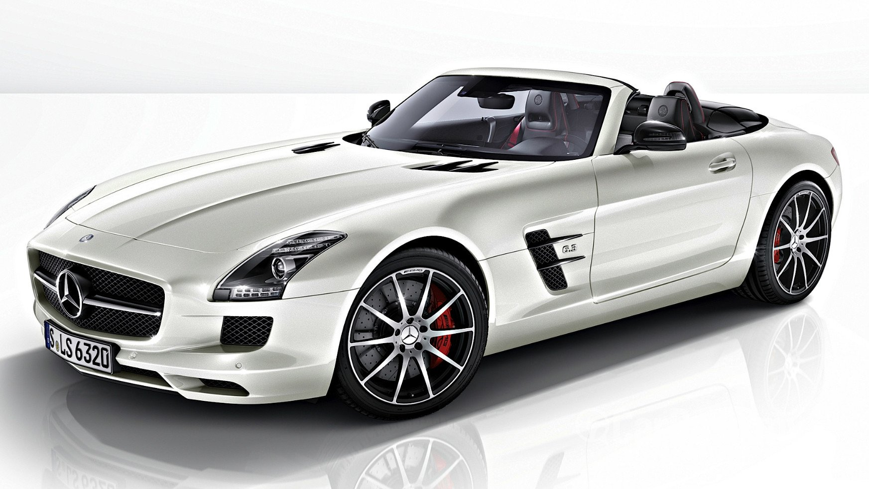 Mercedes benz sls amg roadster r197 2010 exterior image for Mercedes benz 2010 price
