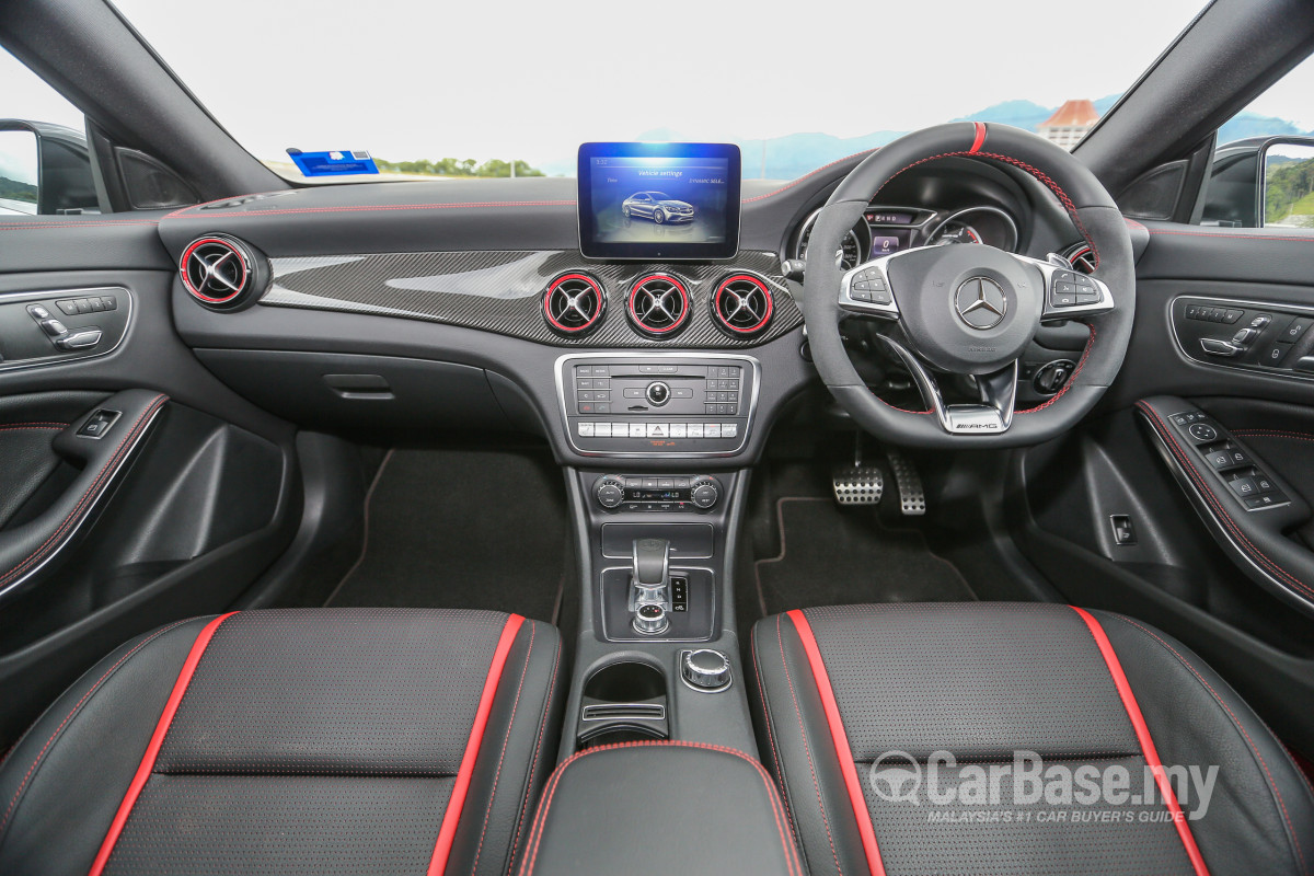 Mercedes Benz Amg Cla C117 Facelift 2016 Interior Image In Malaysia Reviews Specs Prices Carbase My