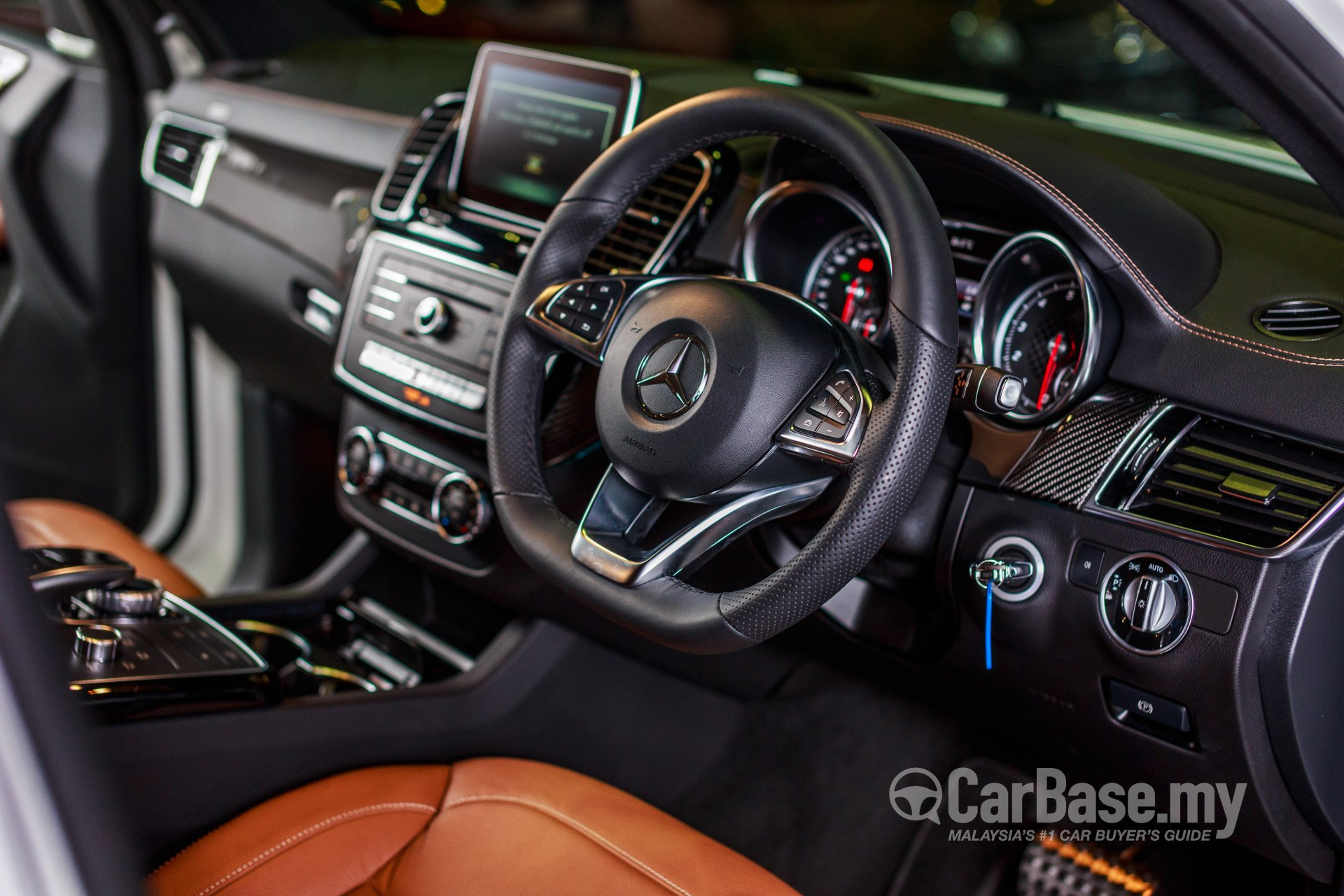 Mercedes Benz Gle Coupe C292 2016 Interior Image In Malaysia