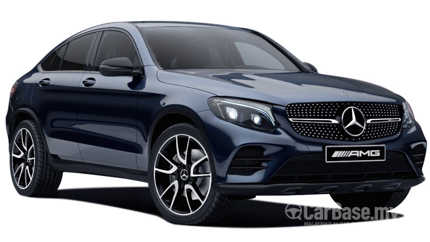 Mercedes benz glc coupe amg c253 2017 exterior image in for Mercedes benz glc coupe price