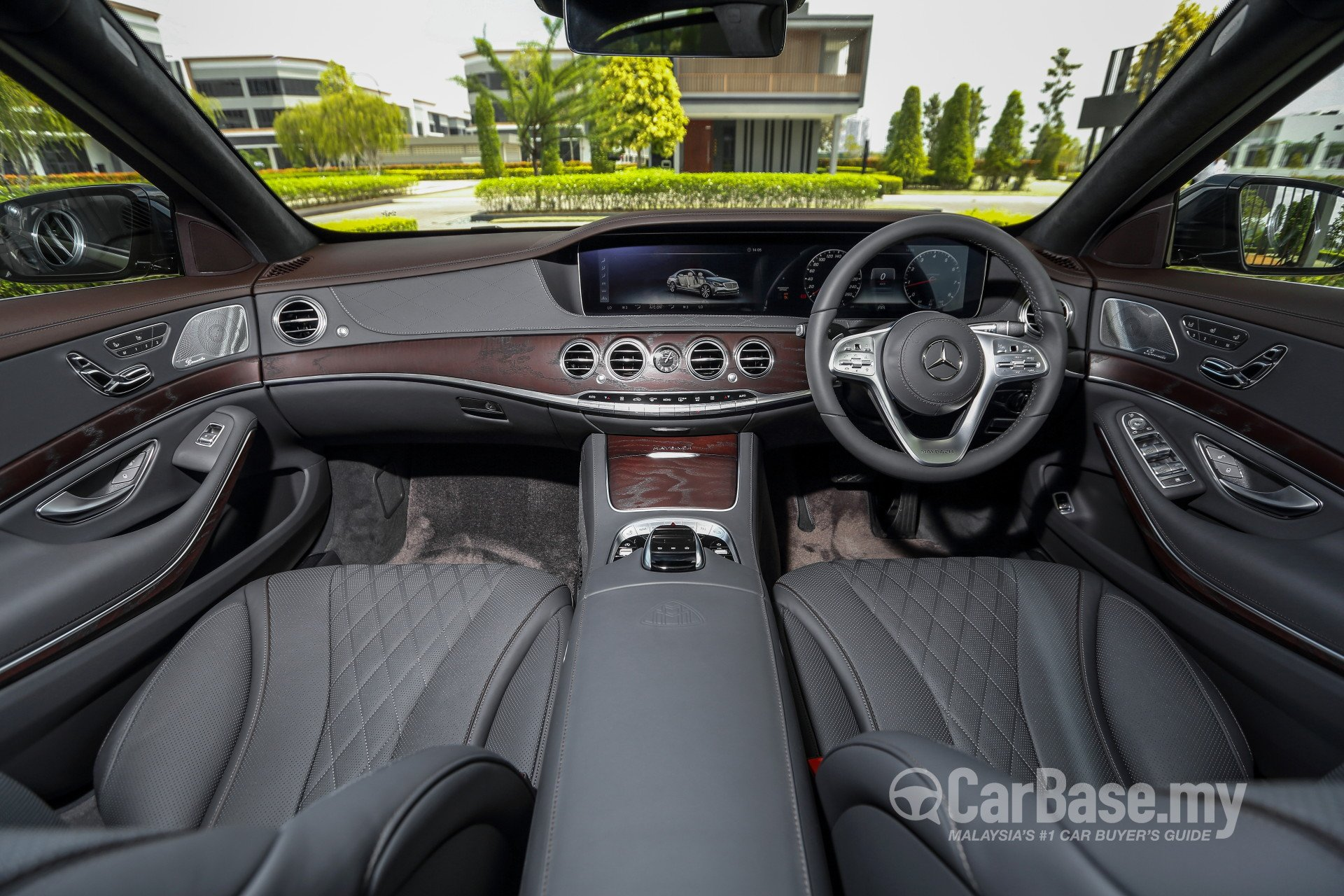 Mercedes Benz Maybach S Class X222 Facelift 2018 Interior Image In
