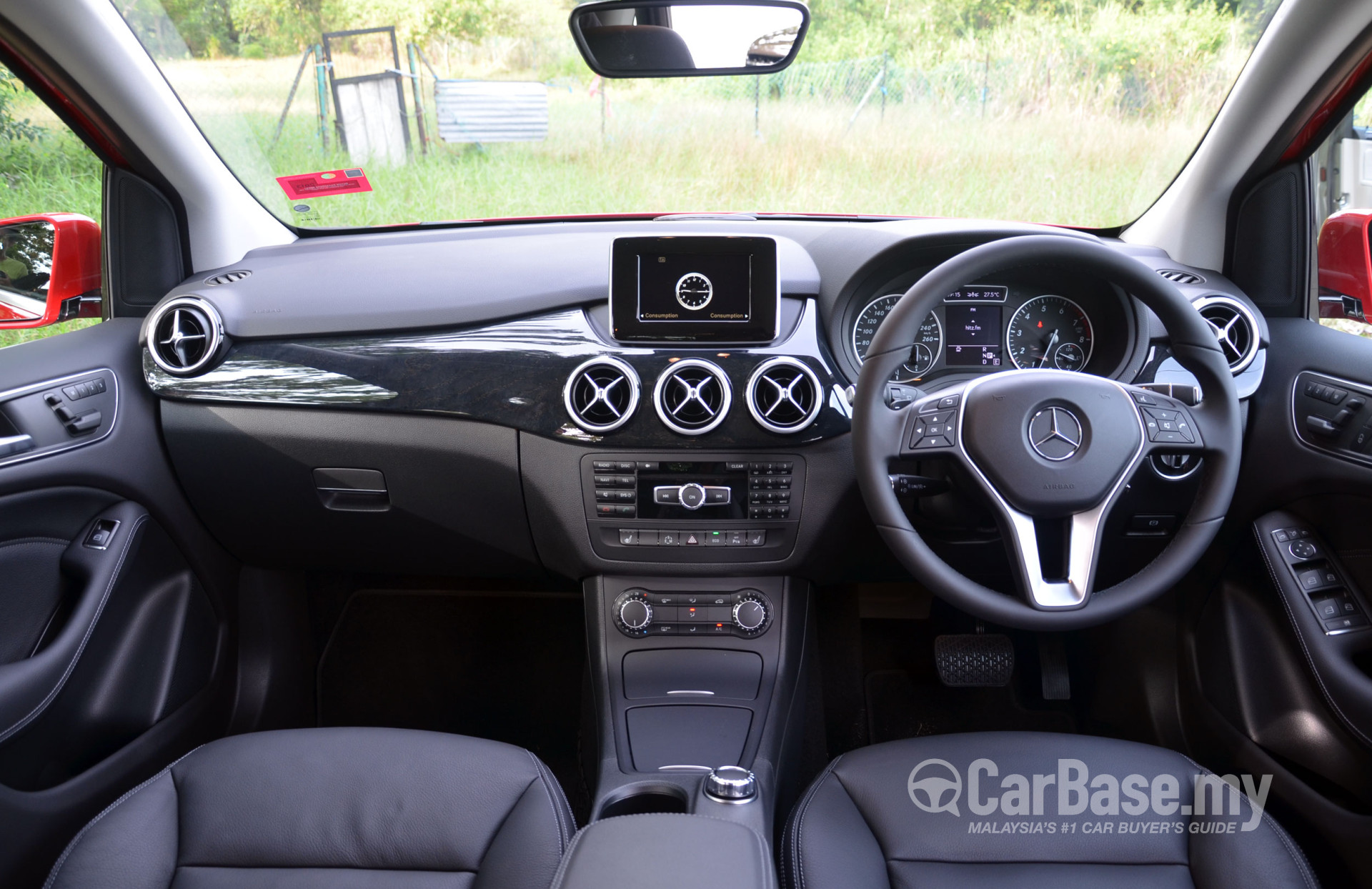 Mercedes Benz B Class W246 2012 Interior Image In