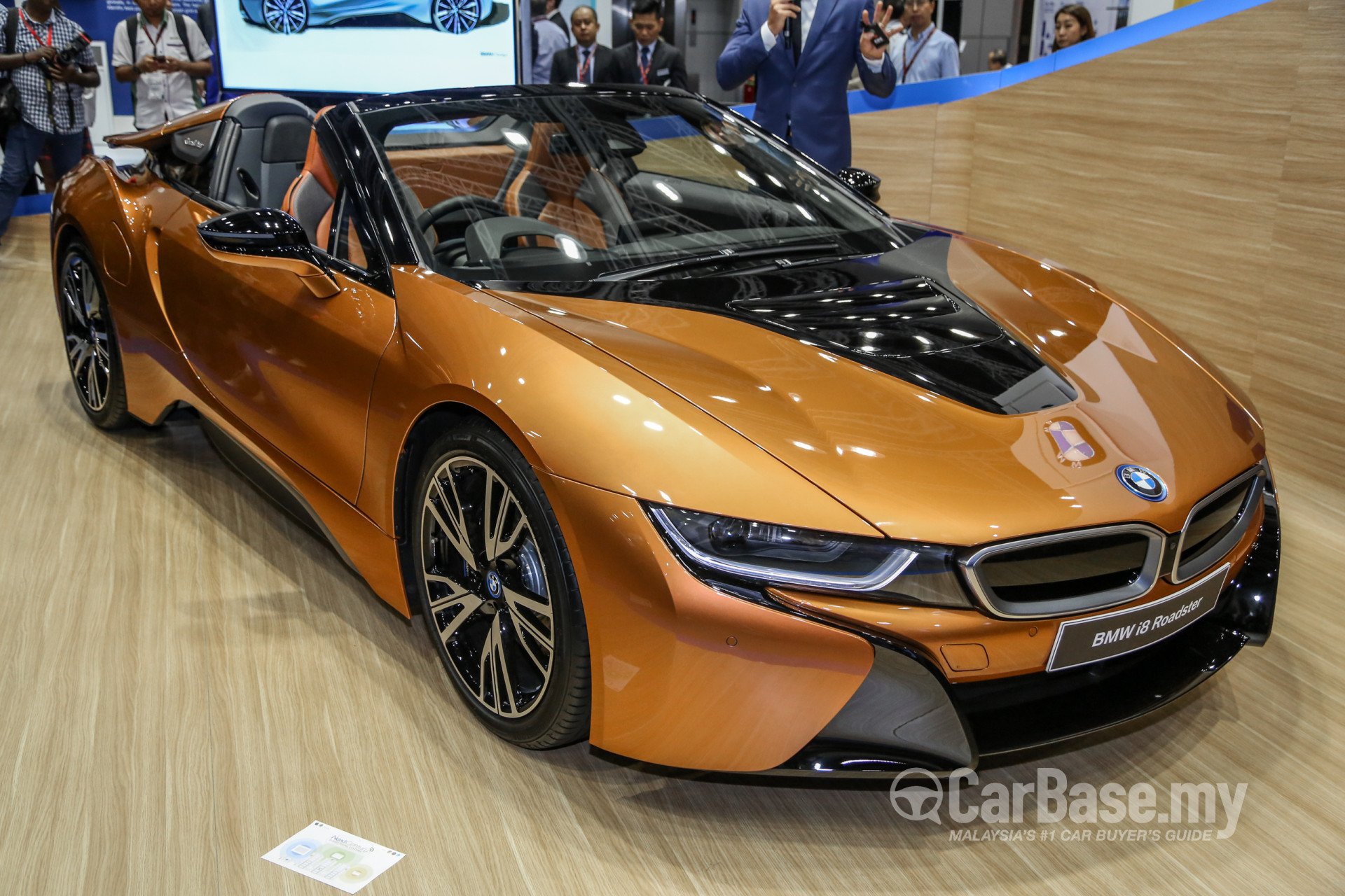 Bmw I8 Roadster I12 Lci 2018 Exterior Image In Malaysia Reviews