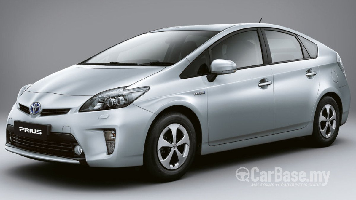 Toyota Prius Xw30 Facelift 2012 Exterior Image In Malaysia Reviews Specs Prices Carbase My