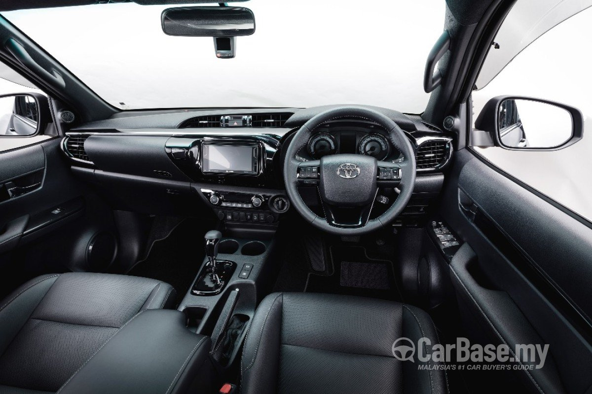 Toyota Hilux Revo N80 Facelift 2018 Interior Image 47336 In Malaysia Reviews Specs Prices Carbase My