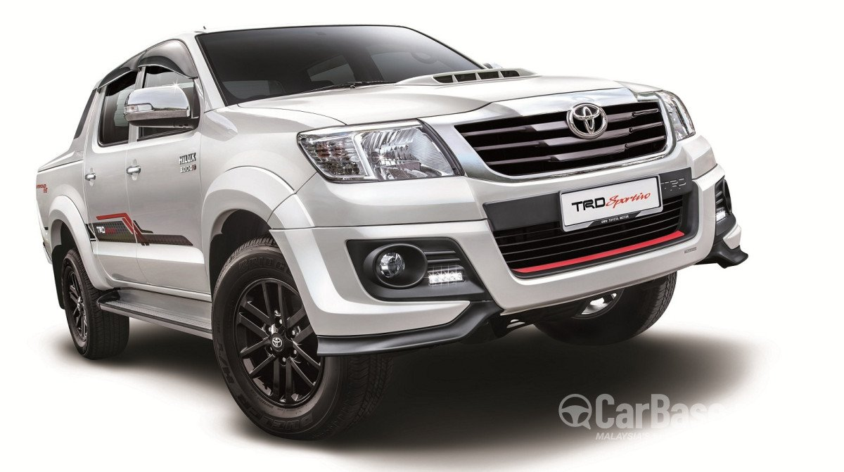 Toyota Hilux (2015) Double Cab 3.0G (A) TRD Sportivo in Malaysia - Reviews,  Specs, Prices - CarBase.my