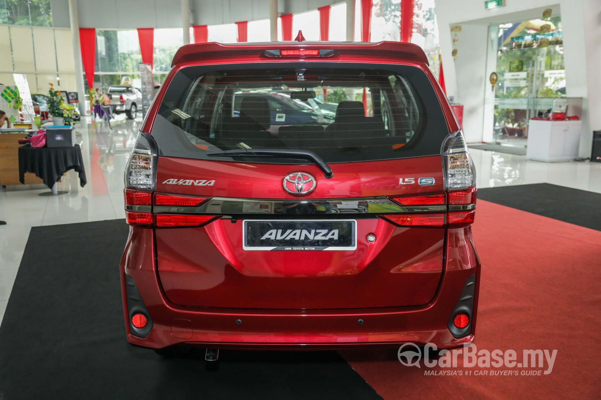 Toyota Avanza F654 Facelift (2019) Exterior Image #56832 in