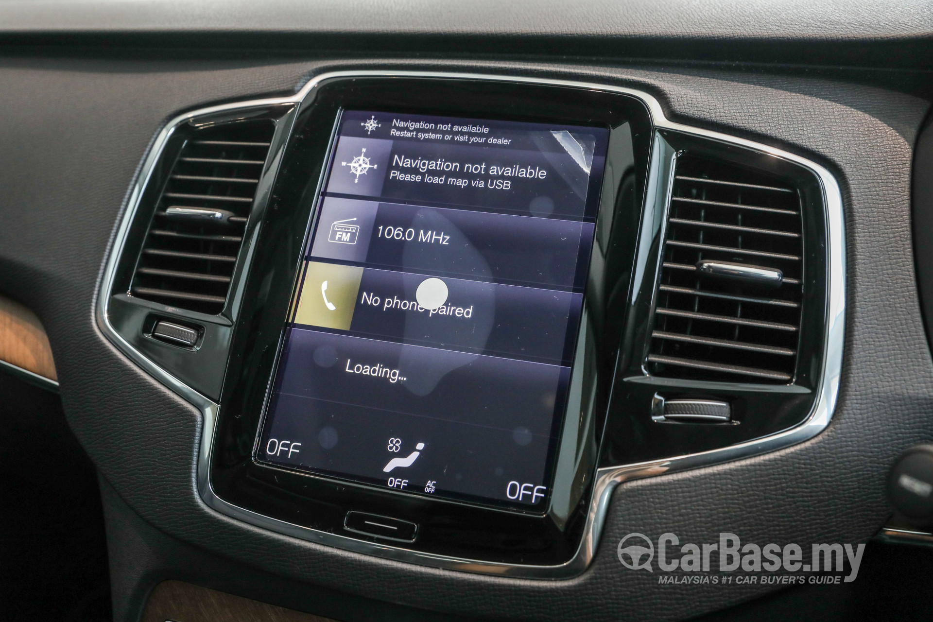 volvo xc90 mk2 2015 interior image 45445 in malaysia reviews rh carbase my Volvo S80 Navigation System 99 Volvo S80 Touch Screen